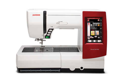 Janome MC 9900 Embroidery and Sewing Machine
