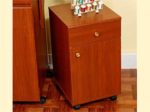 Arrow Suzi Storage Cabinet Cherry For Your Sewing And Embroidery Machines