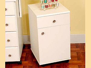 Arrow Suzi Storage Cabinet White For Your Sewing And Embroidery Machines