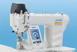 Juki DP 2100 Computer-controlled, Dry-head, Lockstitch Sleeve Setting Machine with Multi-programming Device