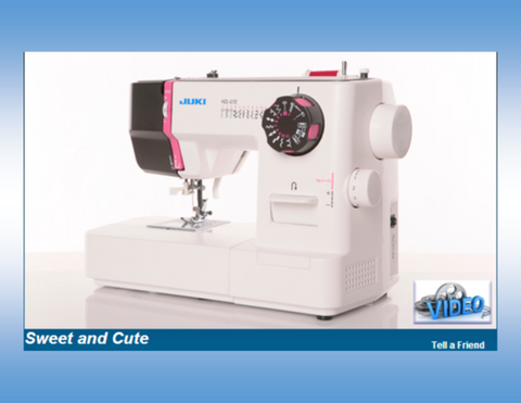Juki HZL-27z Compact Sewing Machine