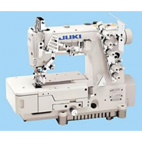 Juki MF-7723-3 Needle Coverstitch Industrial Machine With Cover and Motor, Table Comes Assembled