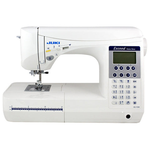 Juki HZL-F300 Exceed Series - Computer Sewing Quilting Machine w/ 20 Bobbins and 100 Needles