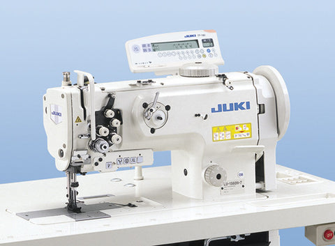 Juki LU-1561N 2-needle, Unison-feed, Lockstitch Machine with Vertical-axis Large Hooks