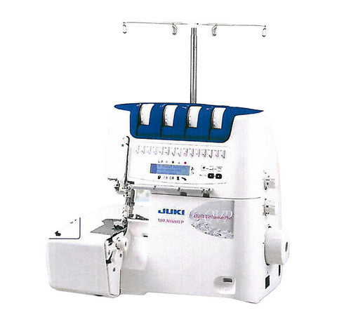 Juki DX MO 2000 QVP 2,3, 4  Thread Serger Power Of Air Threading