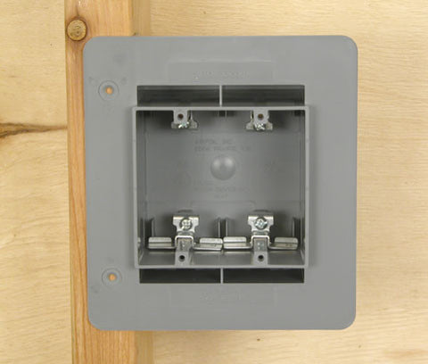 double gange airtight electric box