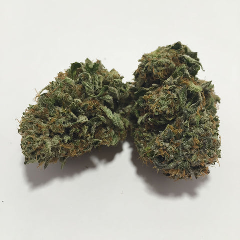 This B.C favourite is a gorgeous Indica prominent hybrid from Rockstar and Bubba Kush, which gives it a rich piney Kush smell and skunky odour.