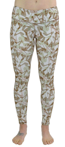 Warm Base Layer Leggings - Camo Natural