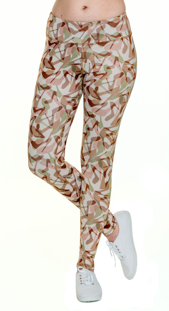 Camo Natural Yoga Leggings
