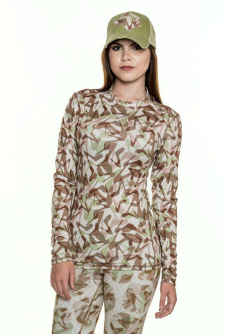 Camo Natural Base Layer Top