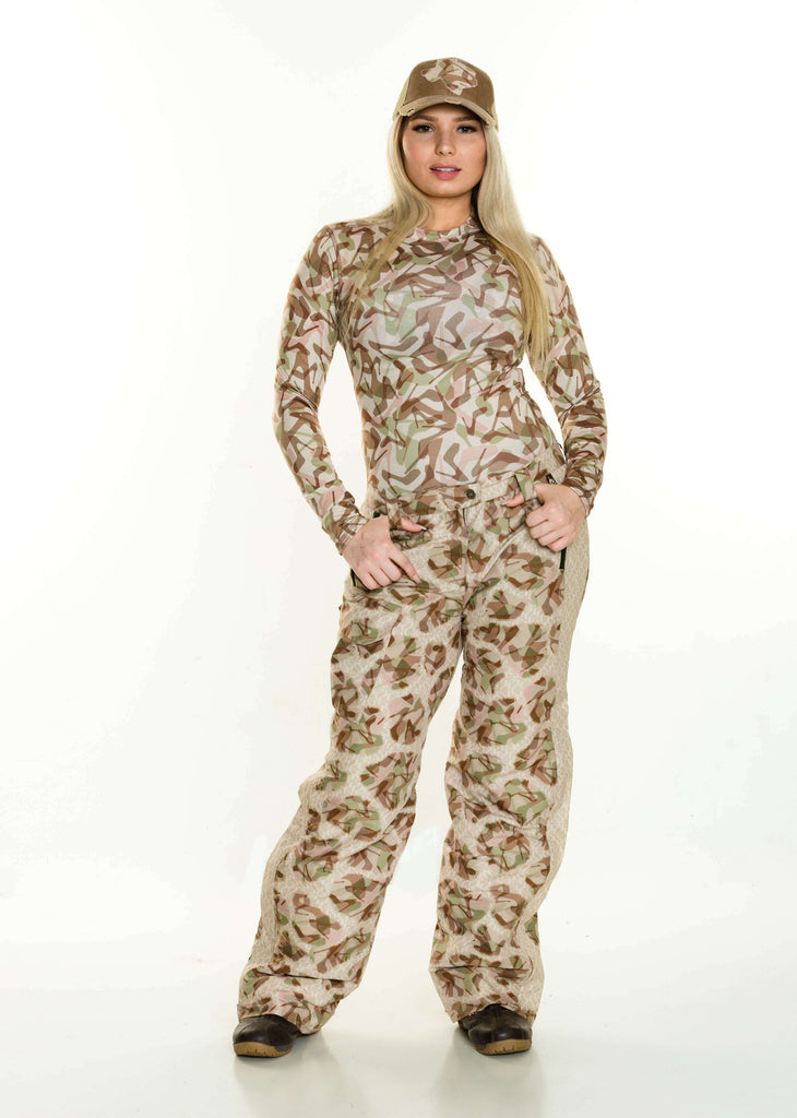 Women's Midweight Insulated Performance Camouflage Pants