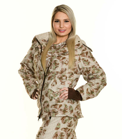 Women's Midweight Insulated Performance Camouflage Jacket