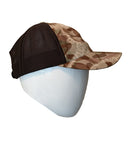 brown camouflage trucker hat