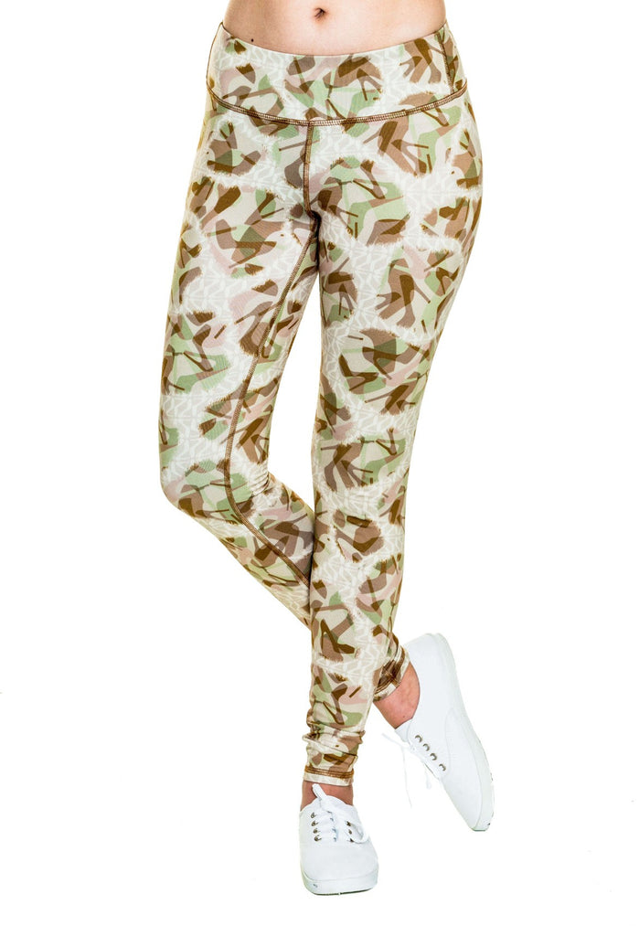 Desert Diva Camo Base Layer Leggings