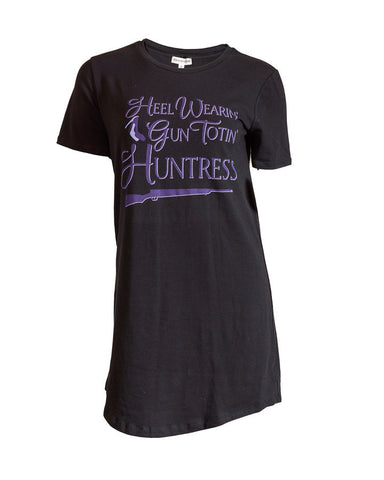 purple logo t-shirt for women