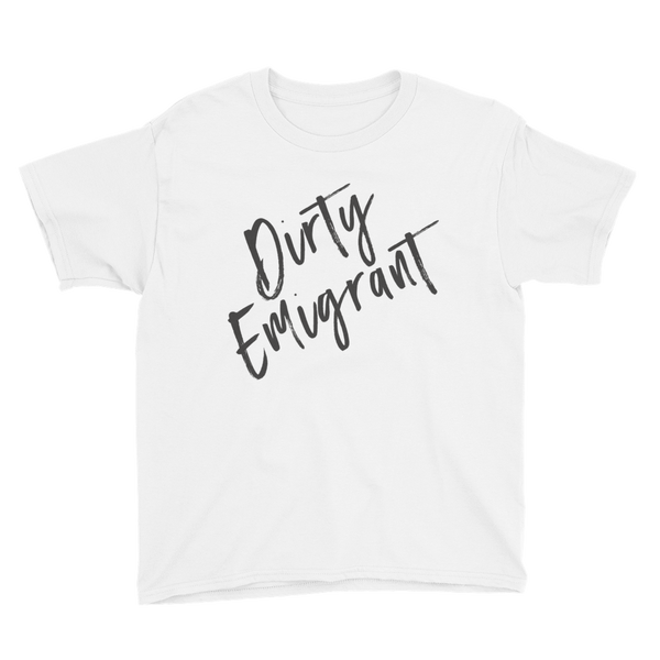 DIRTY EMIGRANT Kids Tee