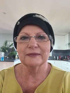 Tonina got relief from chemotherapy induced heat with WrapMeCool
