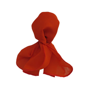 Burnt Orange - Neck Scarf