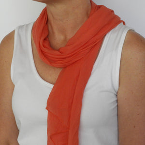 Coral - Neck Scarf