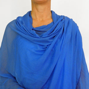cornflower blue wrap