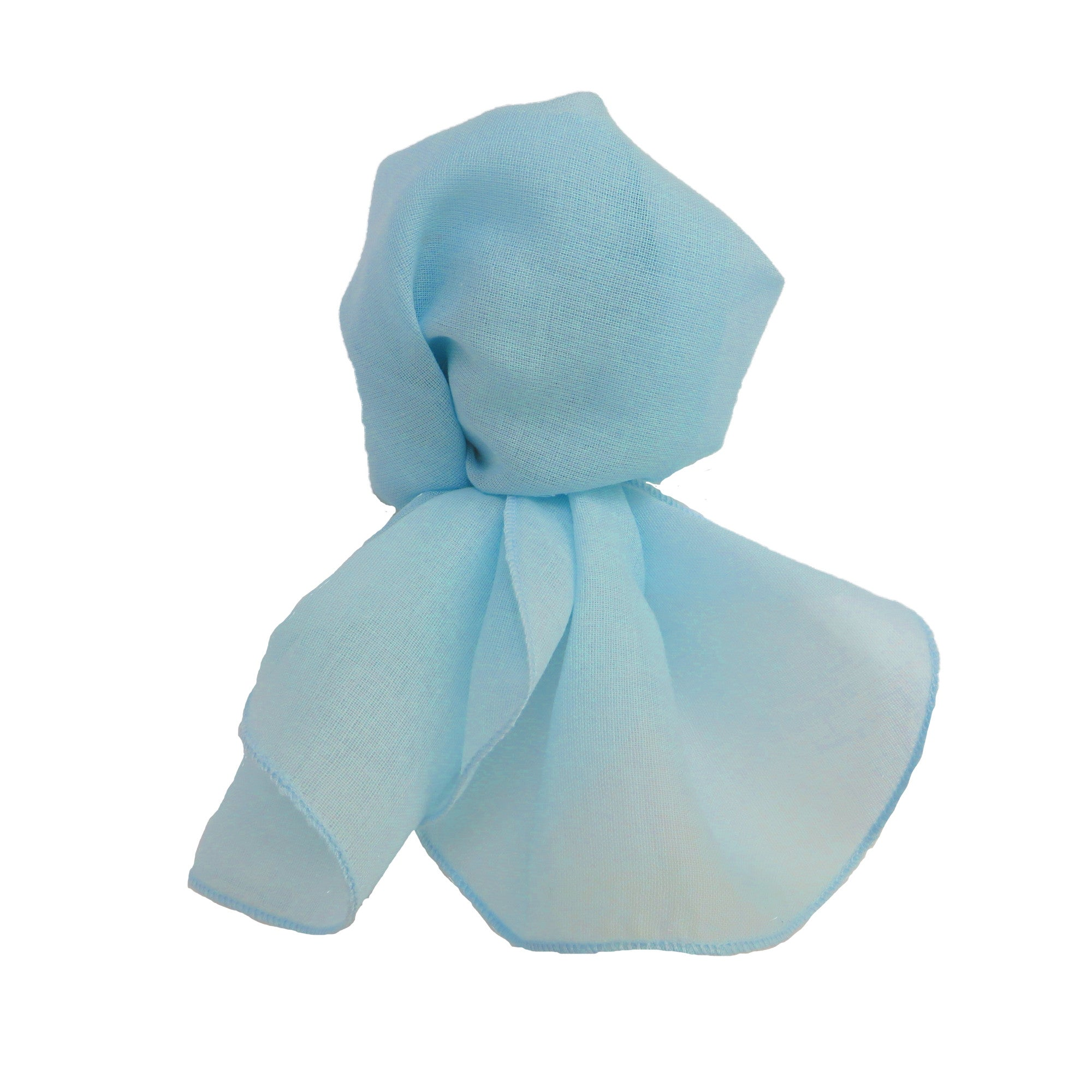 Light Blue - Neck Scarf