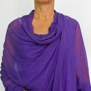 purple wrap