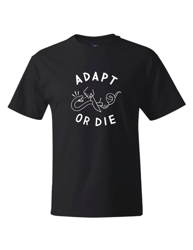Adapt or Die T-Shirt & Nick Waterhouse (Self Titled) Vinyl Bundle