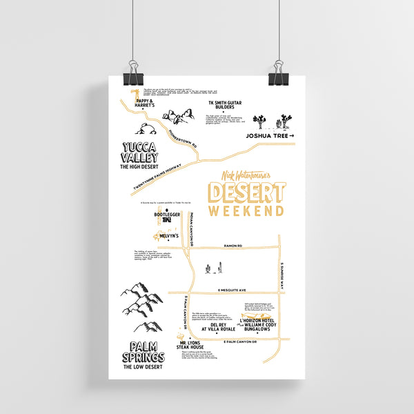High Desert • Low Desert Poster