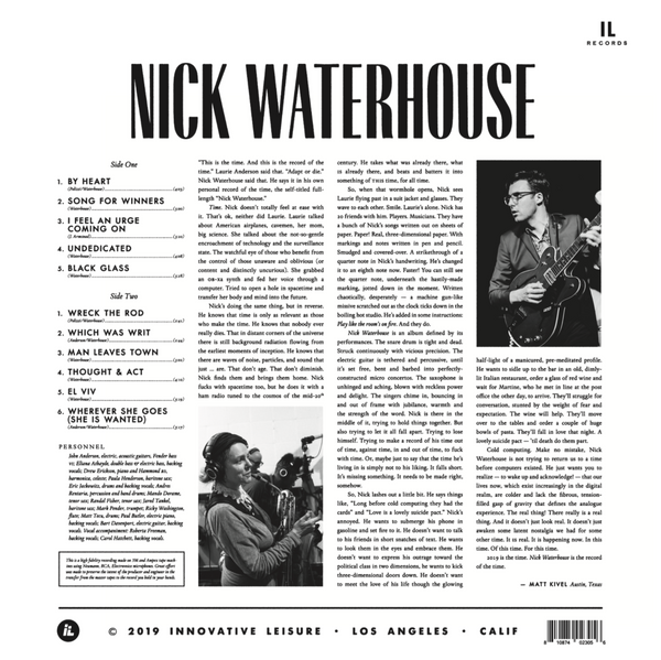 Nick Waterhouse (Self Titled) | LP