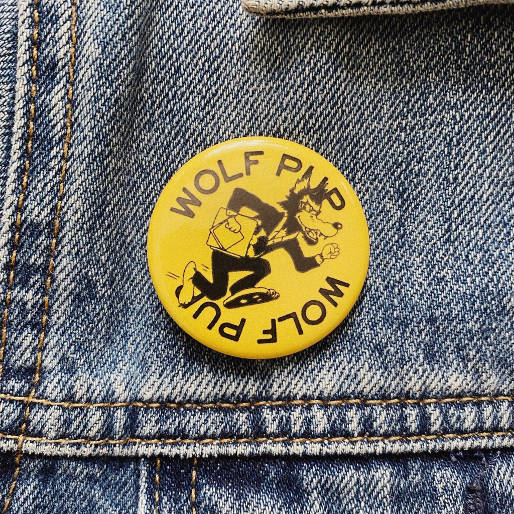 "Wolf Pup 1.5"" Button"