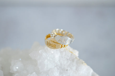 1908 Stacking Ring