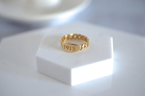 1913 Stacking Ring