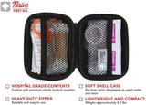 First Aid Kit - 66 Pieces - Small and Light Soft Shell Case