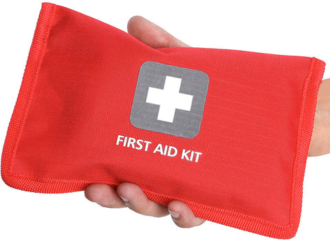 First Aid Kit – 66 Pieces – Small and Light Bag