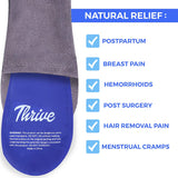 Thrive Perineal Ice Packs for Postpartum, Hemorrhoid Care & Pain Relief