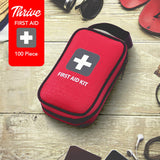 First Aid Kit - Packed with Hospital Grade Medical Supplies
