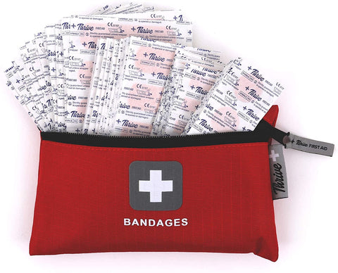 Adhesive Bandages – Pack of 305 Mixed Sizes Fabric Adhesive Bandages
