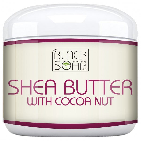 100% Raw African Shea Butter Infused with Coconut - Free Offer Just Pay Shipping