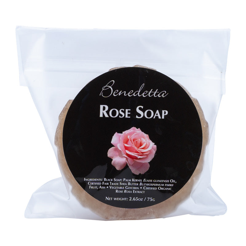 Rose Soap 2.65oz | 75g Packaging Front