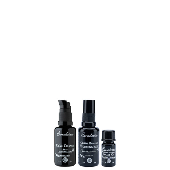 Facial Regimen Starter Set Anti-Inflammatory Packaging Closed
