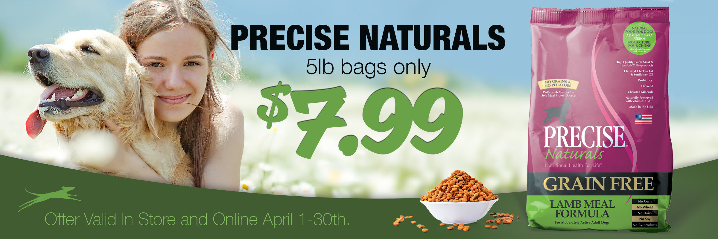 Pricise sale Banner