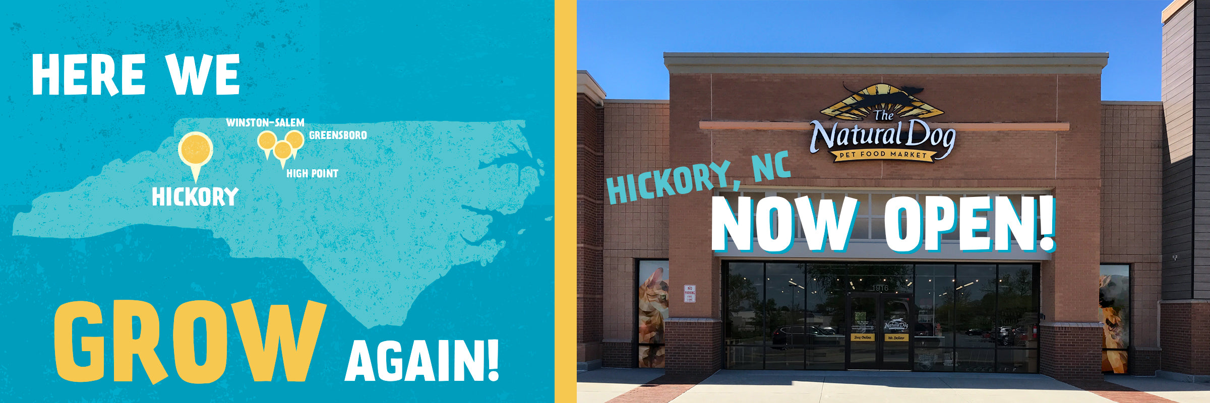 hickory opening