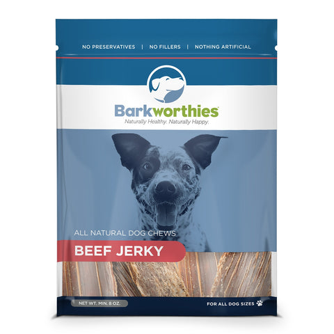 Barkworthies Beef Jerky Dog Treat