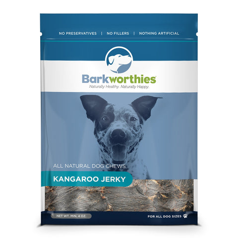 Barkworthies Kangaroo Jerky Dog Treat