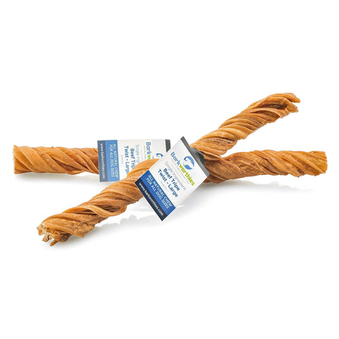 Barkworthies Tripe Twist - Large Dog Treat