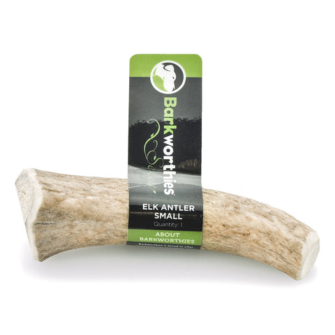 Barkworthies Elk Antler - Select Small Dog Treat