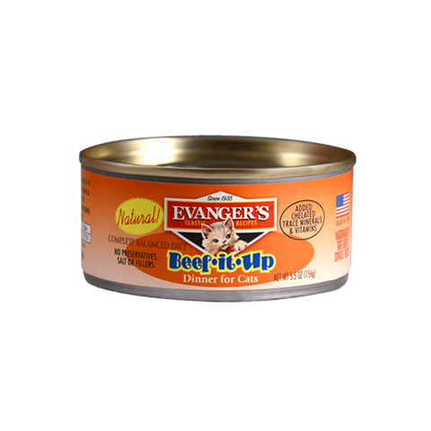 Evanger's Beef It Up Dinner For Cats