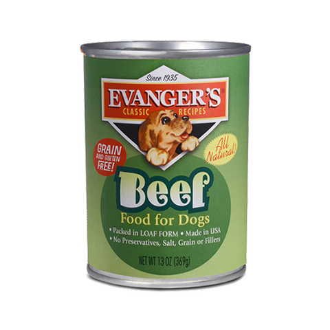 Evanger's 100% Beef Dog Food