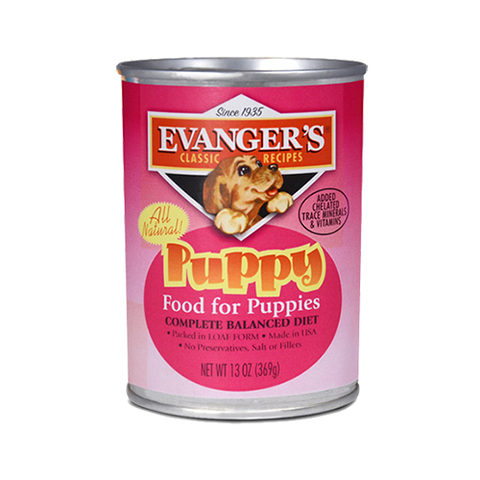 Evanger's Puppy Food