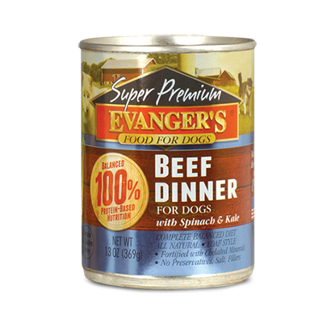 Evanger's Beef Dinner Dog Food